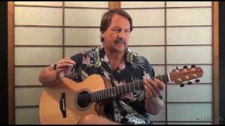 Highway To Hell acoustic Guitar lesson Preview - ACDC