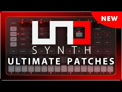 ULTIMATE PATCHES for UNO SYNTH: VOLUMES 1+2