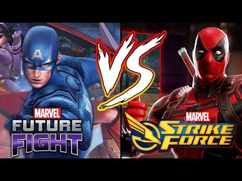 Marvel Strike Force VS Marvel Future Fight