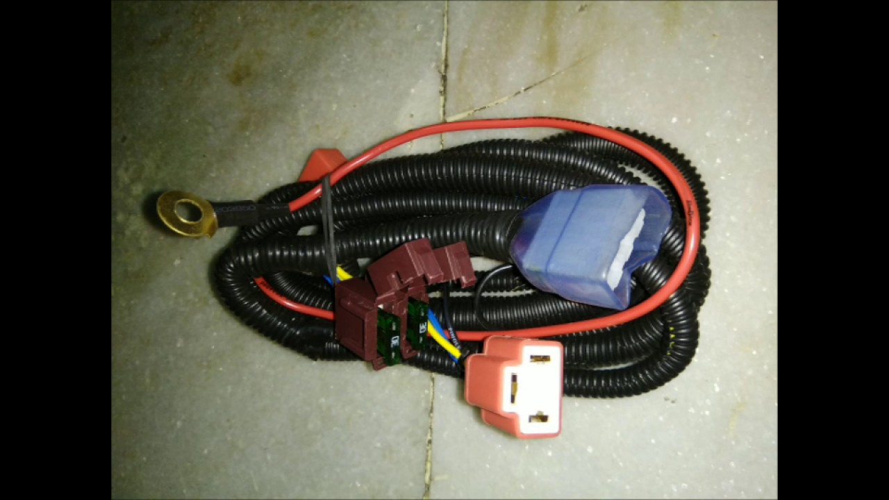 maxresdefault head lamp relay & horn relay with wiring harness call @ 91 horn wiring harness india at soozxer.org
