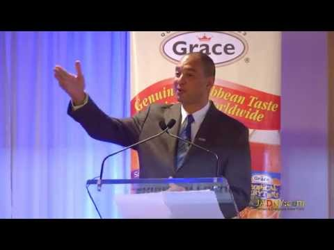 Don Wehby, CEO of GraceKennedy Group @ Caribbean Forum In Brooklyn, NY