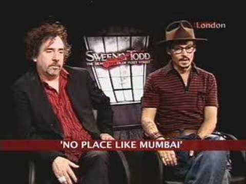 Johnny Depp Candid About Shantaram