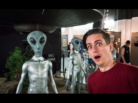 ABDUCTED BY ALIENS! (Roswell, New Mexico)