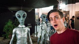 Craziest Exhibits At Ufo Museum