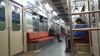 Buenos Aires地下鉄C線 名古屋市交通局5000形5115H(N編成) 車内の様子(Constitución→Independencia)
