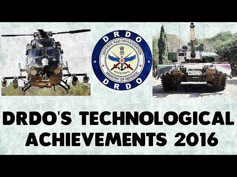 DRDO'S Technological Achievements 2016 Official Video  720p 