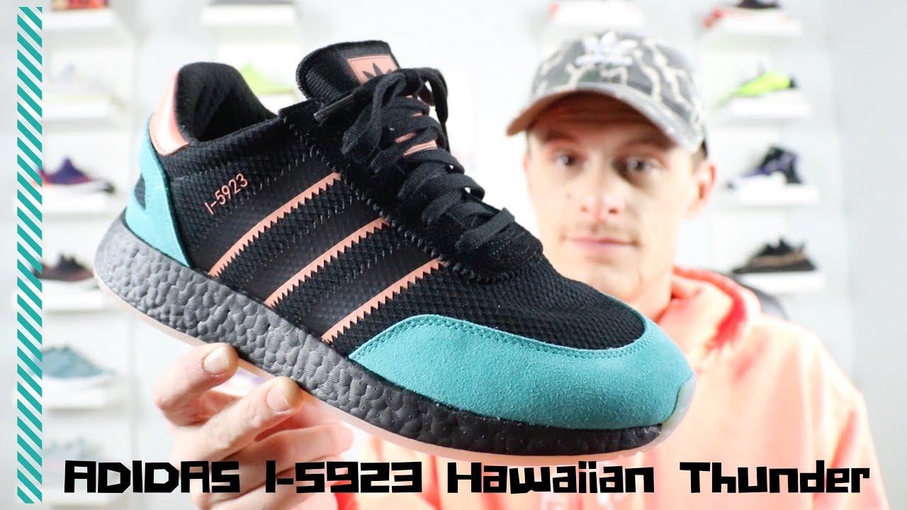 wholesale dealer 2de13 f433d ADIDAS I-5923 Hawaiian Thunderstorm (Size collab, Sneaker Ad