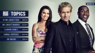 UNDISPUTED Audio Podcast (4.27.17) with Skip Bayless, Shannon Sharpe, Joy Taylor   UNDISPUTED