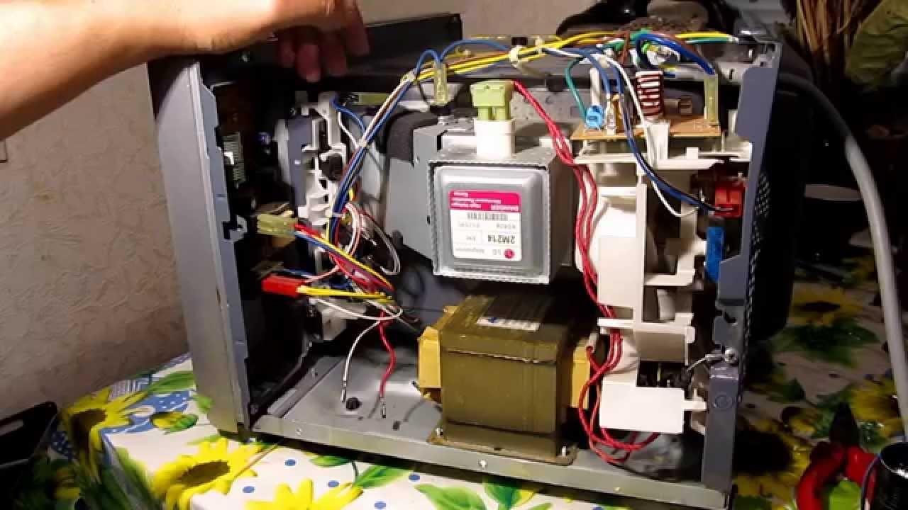 Проверка магнетрона микроволновки своими руками 130