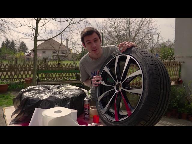 Fessük le a felniket!! | Autó csinosítás #2
