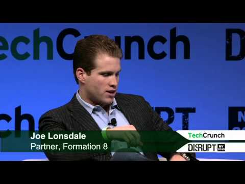 Palantir's Joe Lonsdale | Disrupt NY 2013 - YouTube