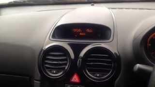 Технік 2 Vauxhall Corsa Д житті ОКС активації - прочитайте опис