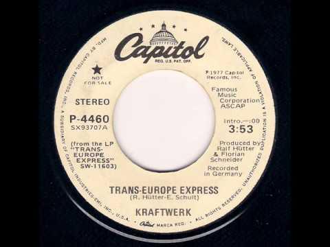 Kraftwerk  TransEurope Express 1978
