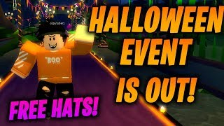 The ROBLOX HALLOWEEN EVENT Has Just Been RELEASED! [Hallows Eve 2018]