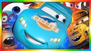 Cars ★ Motori ruggenti ★ Saetta McQueen ★ BLU