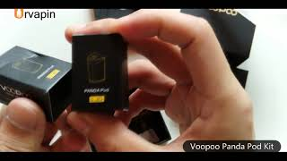 Voopoo Panda Pod Kit Unbox and Preview