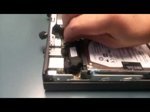 how to install a ssd drive in a hp desktop