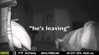 Night Shakes - Game camera while I sleep catches bed shake, EVP and orbs.