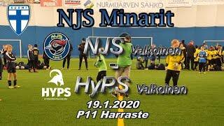 NJS Minarit P11 NJS Valkoinen vs HyPS Valkoinen 19.1.2020