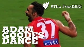 Adam Goodes causes a song and dance I The Feed