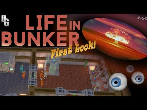 Life in Bunker ► An Apocalyptic First Look at this Underground Vault Builder!