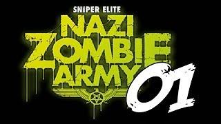 Sniper Elite Nazi Zombie Army 2 E1 MK e Mezzanotte contro tutti!
