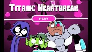 Влюблённый Титан. Юные Титаны, вперед. Игра для детей. Мультики онлайн игры.