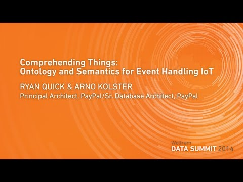 Comprehending Things: Ontology and Semantics for Event Handling IoT