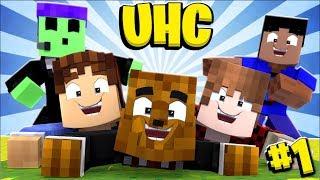 Minecraft YouTuber UHC #1 (Season 20) - The LARGEST Ultra Hardcore Ever