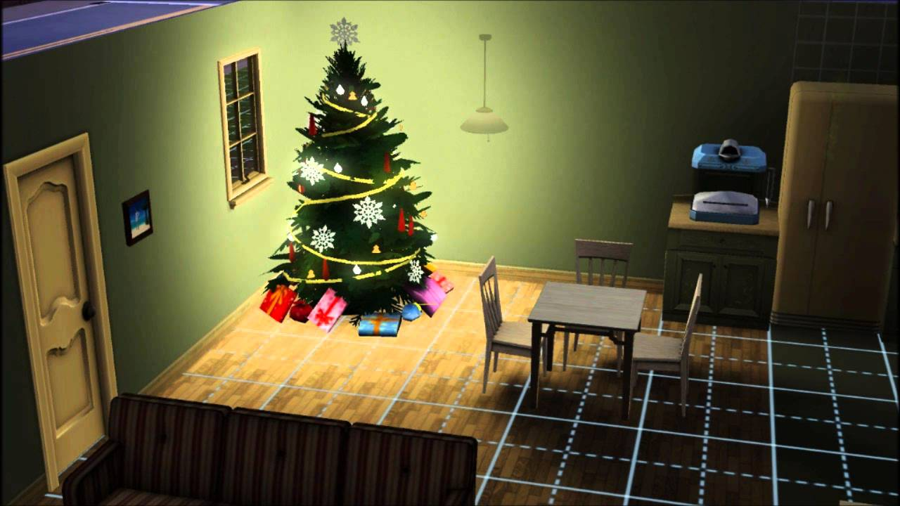 How To Get The Christmas Tree For Sims 3 Seasons
