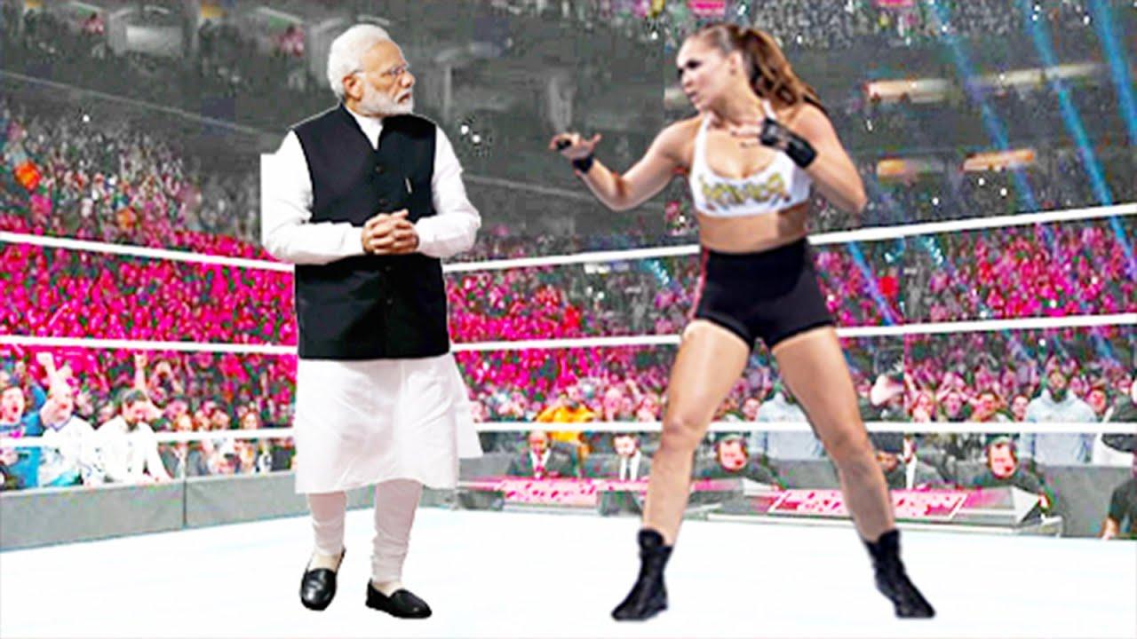 Ronda Rousey vs Narendra Modi - Iron Man Match