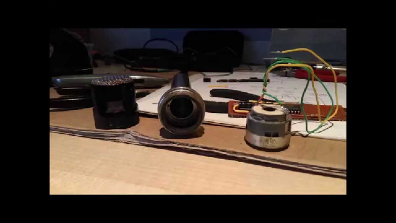 How To Build A Dynamic Microphone Pre Amp For Pc Input Youtube Amplifier Using Transistors