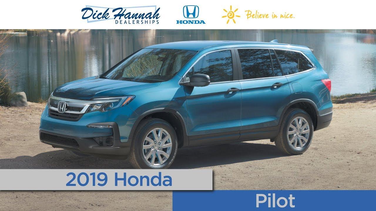 Amazing 2019 Honda Pilot Review   Dick Hannah Honda