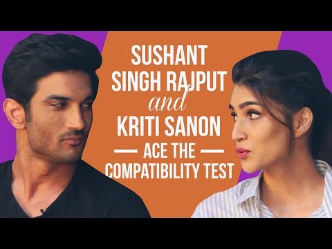 Raabta's Sushant Singh Rajput and Kriti Sanon ace the compatibility test | Bollywood | Pinkvilla