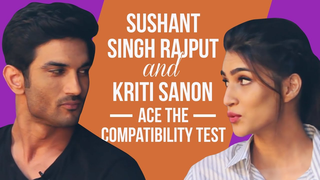 Raabta's Sushant Singh Rajput and Kriti Sanon ace the compatibility test | Bollywood | Pinkvill