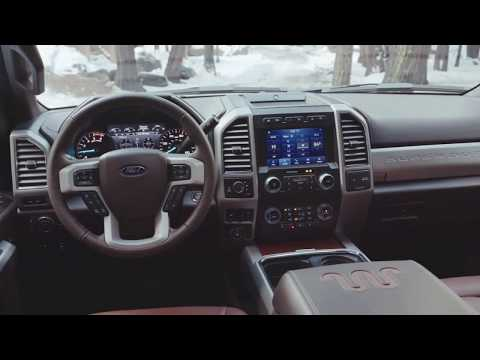 2020 Ford F-250 King Ranch interior and exterior
