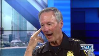 TODAY'S TMJ4's Shannon Sims one-on-one with Milwaukee Police Chief Ed Flynn