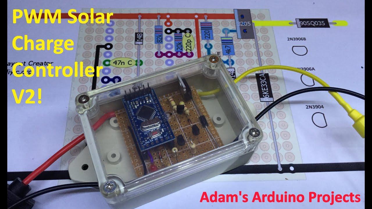 Pwm Solar Charge Controller Version 2 Adam S Arduino