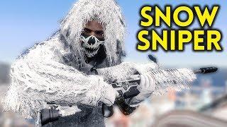 SNOW SNIPER - Fallout 4