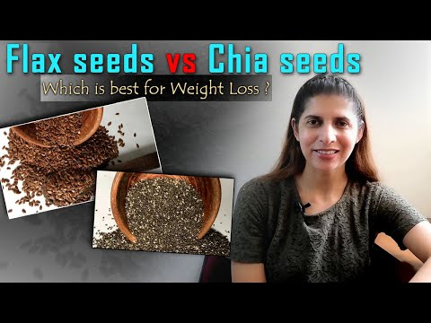 Flax Seeds Vs Chia Seeds Which One You Should Eat | Weight Loss | Difference, Benefits, Use | Hindi
