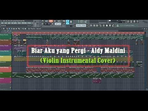 Aldy Maldini - Biar Aku yang Pergi (Cover) | Violin Instrumental