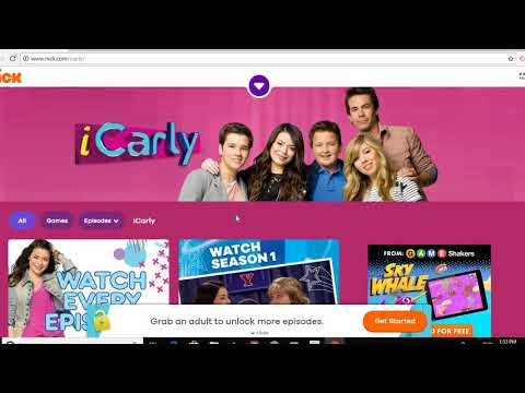 Finding out what happens when you search up iCarly com!! (Cringely ending)