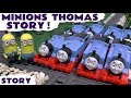 Minions Thomas And Friends Prank | Funny Toys Episode Story With Fun Family Paw Patrol Race Bonus video