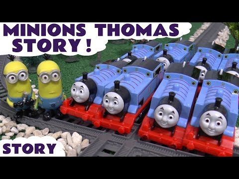 Minions Thomas and Friends Game | Funny Toys Episode Story with Fun Family Paw Patrol Race Bonus
