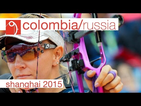 Russia v Colombia – Compound Women's Team Bronze Final | Shanghai 2015