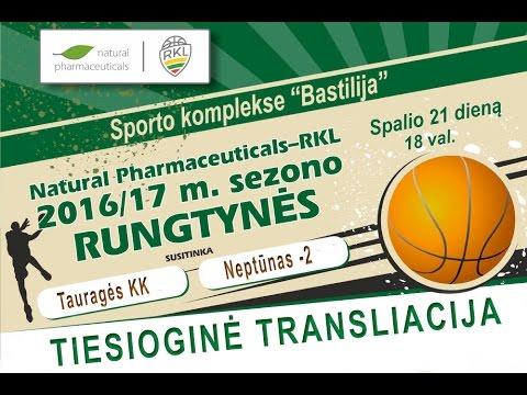TVK . RKL . Tauragės KK - Neptūnas-2