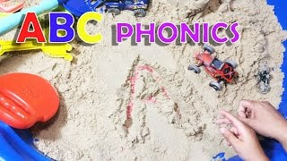 ABC Phonics and ABC song Sand Writing game
