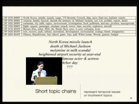 Topic Models Applied to Online News and Reviews