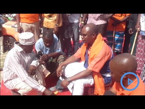 Kaya elders bless Governor Amason Kingi to defend his seat during August 8 elections
