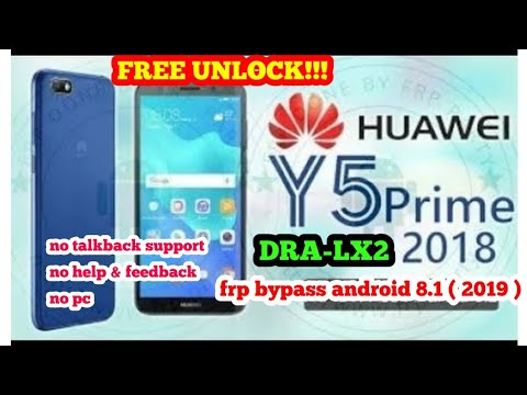 huawei y5 2018 dra-l01 frp bypass google account 8 0 oreo | FunnyCat TV